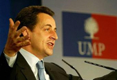 Nicolas Sarkozy en  Algrie