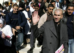 Zidane en Alg&eacute;rie