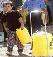 penurie d'eau potable a Ain Meloukl
