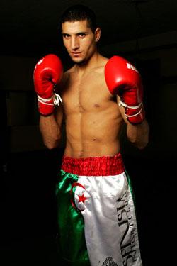 Le boxeur Algérien Sofiane Sebihi